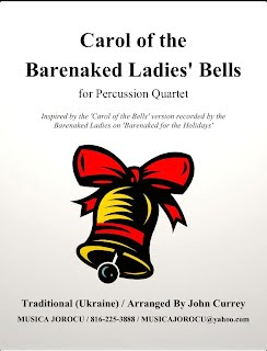 Carol Of The Barenaked Ladies' Bells - Cover