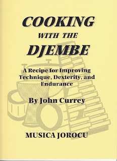 Djembe CookBook Cover